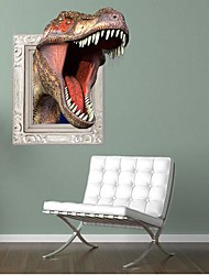 3D Tyrannosaurus Rex Wall Stickers Wall Decals