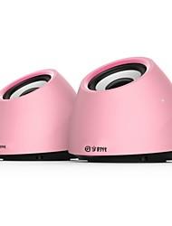 Music-M-37  High Quality Stereo USB 2.0Multimedia Speaker  (White/Blue/Pink)