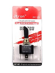 Jtron DIY Car Modification Switch / LED Blue Light Switch ON-OFF-ON