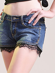 Women's Pants , Denim Casual SHOPCARA