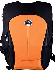 Caseman CP04 Polyester Camera Backpack Bag  for Nikon D90 / Canon 60D - Blaze Orange