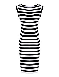 CD Secy Stripes delgado vestido-H0953