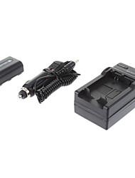 ismartdigi-Sony NP-FH50 1050mAh, 1.2V Bateria Camera + Carregador de isqueiro para SONY HX200 HX100 A230 A330 A290 A390 H