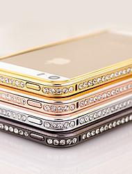 Elegante Decorato con Diamante Frame per iPhone 4/4S (colori assortiti)