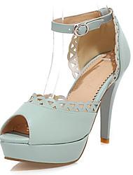 Talons stylets de talon Sandales Chaussures similicuir femmes (plus de couleurs)