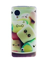 Kinston Sweet Cotton Candy Pattern TPU Soft Case for Google LG Nexus 5