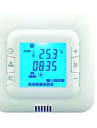 LCD-Bildschirm digitale programmierbare Thermostat Fußbodenheizung Raumtemperaturregler Max 16A AC110V-220V