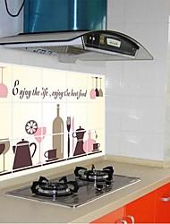 doudouwo ® modelar el mundo copa pegatinas anti-petróleo