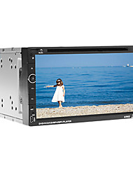 6.95 Inch 2Din In-Dash Car DVD Player with GPS,RDS,iPod,BT,Touch Screen