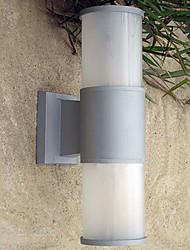 Outdoor Wall Light, 1 Luce, pittura minimalista in alluminio acrilico
