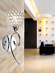 Crystal Wall Light , 1 Light , Creative Iron Painting