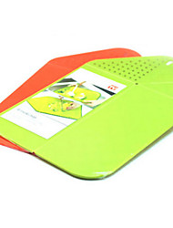 Drain Multifunction Folding Cutting Board