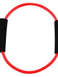 Word-O Stil Latex Fitness Trainings Stretch Pull Seil - Rot