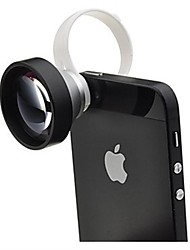 Detachable Clip 5X Super Lens with Pouch for iPhone 4/4S, iPad, Mobile Phone and Digital Camera Lens
