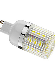 4W G9 LED Mais-Birnen T 30 SMD 5050 400 lm Kühles Weiß Dimmbar AC 220-240 V