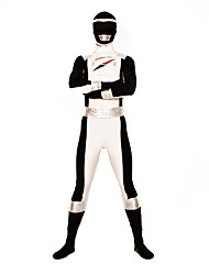 Power Ranger GoGo Sentai Boukenger Bouken Black Zentai Cosplay Kostuum
