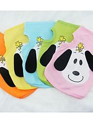 Hunde T-shirt Orange / Gelb / Grün / Blau / Rosa Hundekleidung Sommer Karton