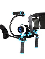YELANGU® Basic Version Of The Dslr Camera Shoulder Rig With Simple C type portable matte box follow focus