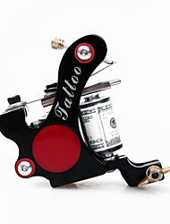 8 Wrap Coils Iron Bullet Tattoo Machine Shader Gun