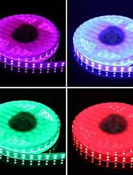 dubbele rij 600x5050 SMD 144w 6000lm IP67 waterdichte rgb led strip licht (5-meter / 12v)