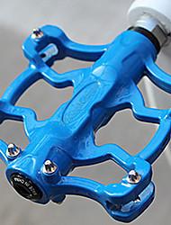 Antideslizante Durable Pedal MTB Azul de aleación de aluminio CoolChange