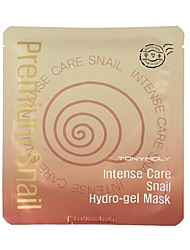 [TONYMOLY] [10pack] Intense Care Snail Hydro Gel Mask 25g (Wrinkle Care, Skin Fiming, Moisturizing, Anti-aging Mask)