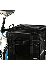 Cyclisme PVC 28L étanche Mode Vélo Retour plateau sac