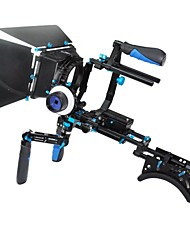 High Performance DSLR Shoulder Mount Rig And Follow Focus And Matte Box