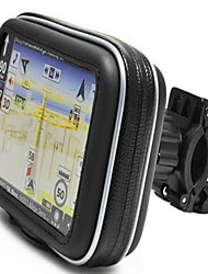 "Waterproof Bike Bycicle Motorcycle Handlebar Mount and Case  for Garmin Nuvi Magellan 3.5"" 4.3"" GPS"
