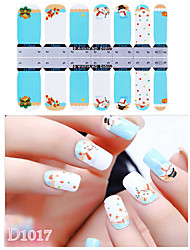 DF COLOR Manicura Suministros Nail Sticker Manicura Calcomanías (D1017)