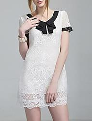 Lazer Moda Chiffon Vestido das mulheres
