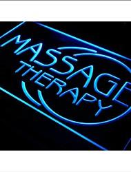 i315 Massagem Terapêutica corpo aberto NOVO Luz Neon Sign