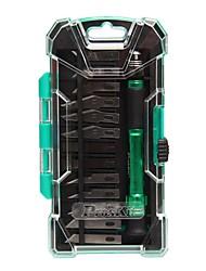Pro′sKit PD-398 14pcs Aluminum handle knife kit