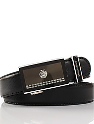 Baidaipingguo Formal Wear Automatische Buckle Riem 1 (Zwart)