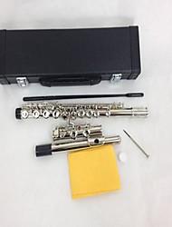 16 Hole Obturator vernickelt Flöte C und E Key