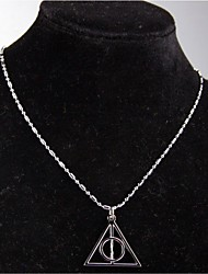 Necklace Chain Necklaces Jewelry Alloy Party Silver 1pc Gift