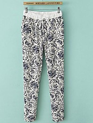 Women's  Printing Patterns Trousers