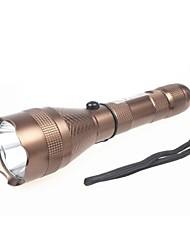 Shibaojia ® 3-Mode Cree XR-E R2 impermeável lanterna LED greve moldura recarregável 500m flightshot incluído