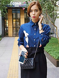 Women's Casual Shirts , Cotton Casual Miss A