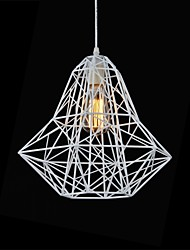 Simples estilo do metal gaiola Chandelier