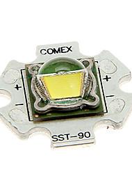 Ampoule SST-90 2300LM émetteur de LED 8000K White Light (4.2V)