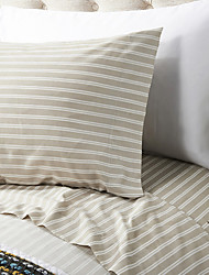 Stripe Microfibre Sheet Set
