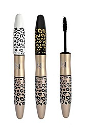 Leopard Waterproof Lengthening Extension Eyelash Eye Lash Transplanting Gel Fiber Mascara MAKEUP