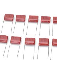 DIY   M-CAP 474 0.47uF 400V Metal Film Capacitors - Dark Red (10 PCS)