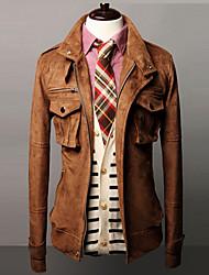 Men's Stylish Slim Pocket Coat