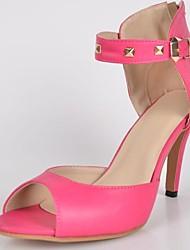 bc niedlichen rosa Frauen Pumpe Sandalen mit Schnalle