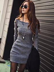 Women's Dresses , Cotton Casual/Work DEFANIA