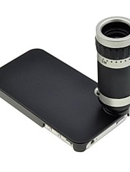 Optical 8X Zoom Telescope Lens Manual Focus with Hard Case for iPhone 4 /4S