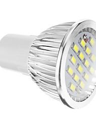 Faretti 15 SMD 5730 GU10 5.5 W 400 LM 6000-7000 K Luce fredda AC 100-240 V