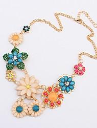 Maki Colors Flowers Luxury Fresh Necklace